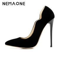 New Arrivals In The Spring And Autumn Season Fashion Sexy Women Platform Pump 12 Cm High