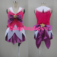 New Custom Made American Game LOL Star Guardian Lux Cosplay Costume High Quality Christmas Halloween CosplayLove