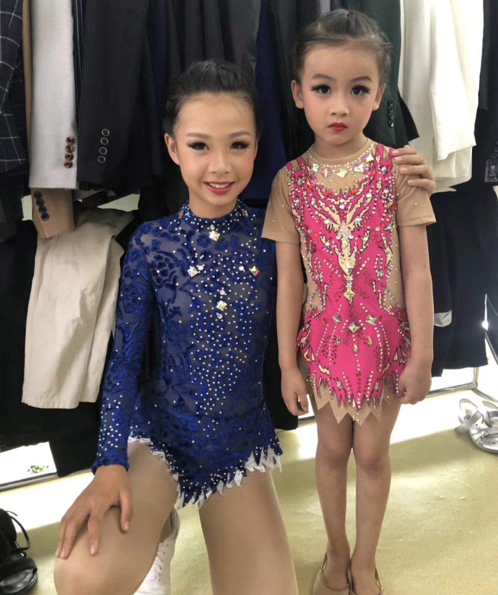 Adulte concurrence Gymnastique justaucorps Enfants performances gymnastique justaucorps cutom couleur et taille