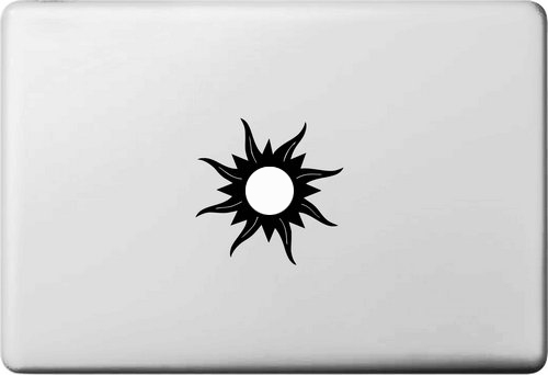 Shiny Sun Fire and Ice Vinyl Sticker for font b apple b font Macbook Air 11