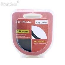 Новый 37 43 46 49 52 55 58 62 67 72 77 мм ультра Тонкий Поляризатор CPL Циркулярный Поляризационный Фильтр Для Canon Для Sony Для Nikon