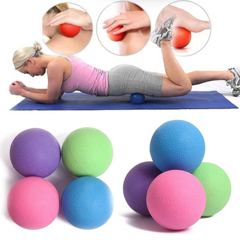 1PCS Lacrosse Massage Ball Therapy Trigger Full Body Exercise Sports Crossfit Yoga Balls Relax Relieve Fatigue Tools gym crossfit fitness massage lacrosse ball therapy trigger full body exercise sports yoga balls relax relieve fatigue tools