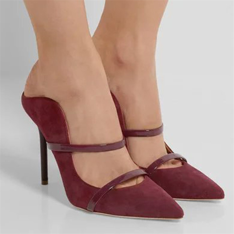 New Designer Zapatos Mujer Sapato Spring&Autumn Slingbacks High Heels Pumps Stylish Pointed Toe Party Shoes Runway Women Pumps pointed toe butterfly knot decor women pumps high heel sapato feminino chic brand runway star shoes bow tie women zapatos mujer