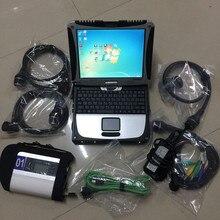 Горячая v2019.05 Новый MB SD C4 MB Star C4 SD connect compact 4 с WI-FI звезда C4 + новейшее программное обеспечение в ssd ноутбук CF-19 сенсорный экран