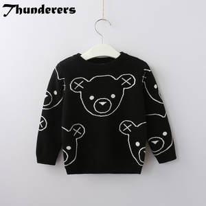 3a572c8c3 thunderers children girl boy knit pullover sweater kids
