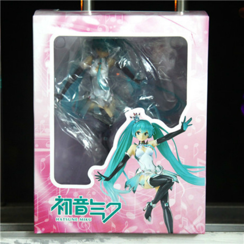 Toys & Hobbies Selfless Nendoroid Hatsune Miku Racing Miku Car Flag #517 Can Change The Face Q-version Pvc Action Figure Collectible Model Toy P293