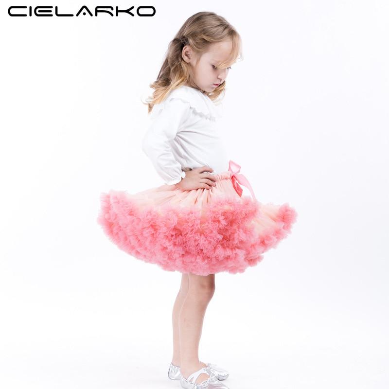 e811d949eb82 Cielarko Girls Skirts Fluffy Kids Pettiskirt Fancy Baby Girl Tutu ...