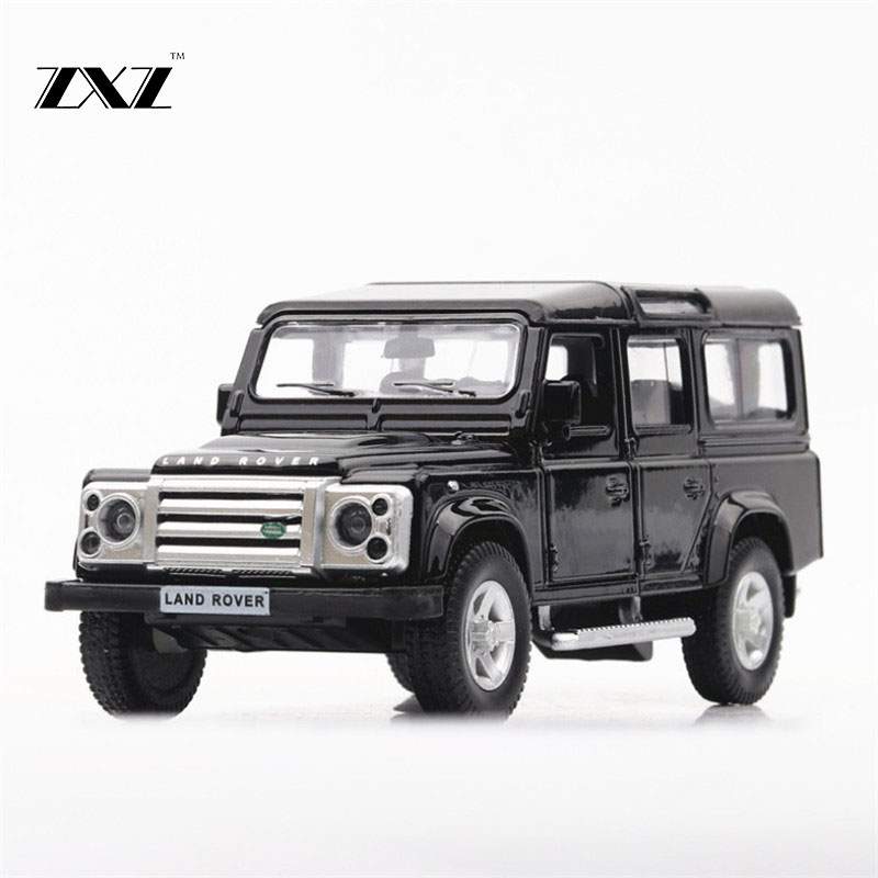 1:36 Toy Car Rover Defender Metal Toy Alloy Car Diecasts & Toy Vehicles Car Model Miniature Scale Model Car Toys For Children ...