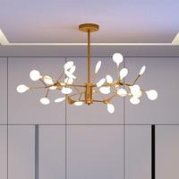 Nórdico moderno Lustre lâmpada de Iluminação G4 levou Lustre Luminaria Teto Do Quarto Sala de estar Sala de Jantar Lâmpada Suspensa