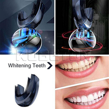 The World's First Fully Automatic Toothbrush with Double Head Teeth Whitening Brush Amabrush