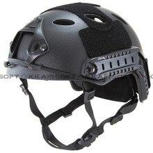 Emerson мотоциклетный шлем страйкбол быстрый стиль PJ шлем(A-TACS FG TAN MARPAT Пустыня на серый черный