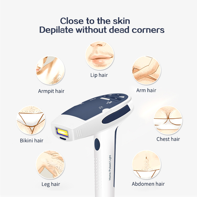 Lescolton Permanent Hair Removal Laser Hair Epilator Home Laser Epilasyon Shaving Depilador Women Hair Removal Whole Body Bikini Epilators