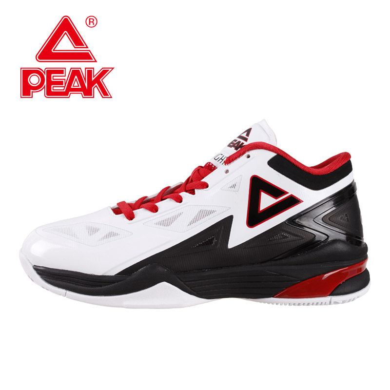 PEAK SPORT Lightning II Men Basketball Shoes Professional Athletic Competitions Sneakers FOOTHOLD Cushion-3 Tech Boots EUR 40-50 peak sport hurricane iii men basketball shoes breathable comfortable sneaker foothold cushion 3 tech athletic training boots