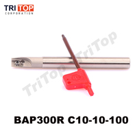 Milling Tool Holder BAP 300R C10 10 100 Face Mill Shoulder Cutter For Milling Machine For