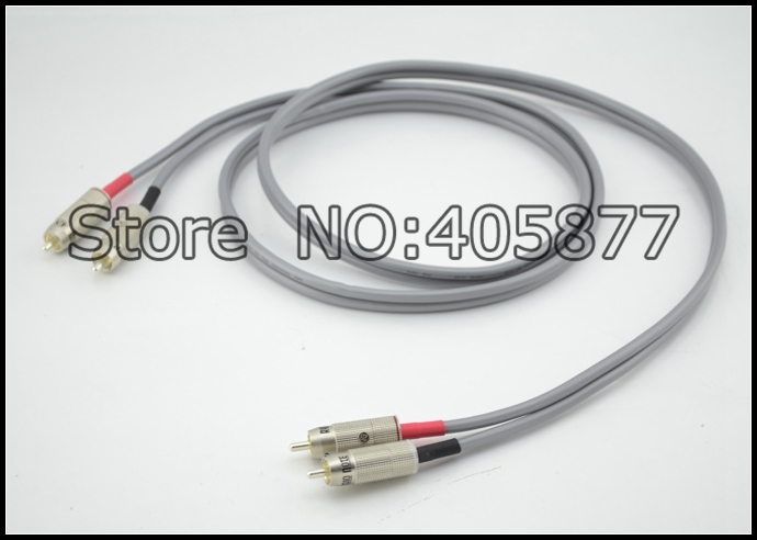 AN-Vx Solid Core 99.99% Pure Silver RCA 1m without boxAN-Vx Solid Core 99.99% Pure Silver RCA 1m without box