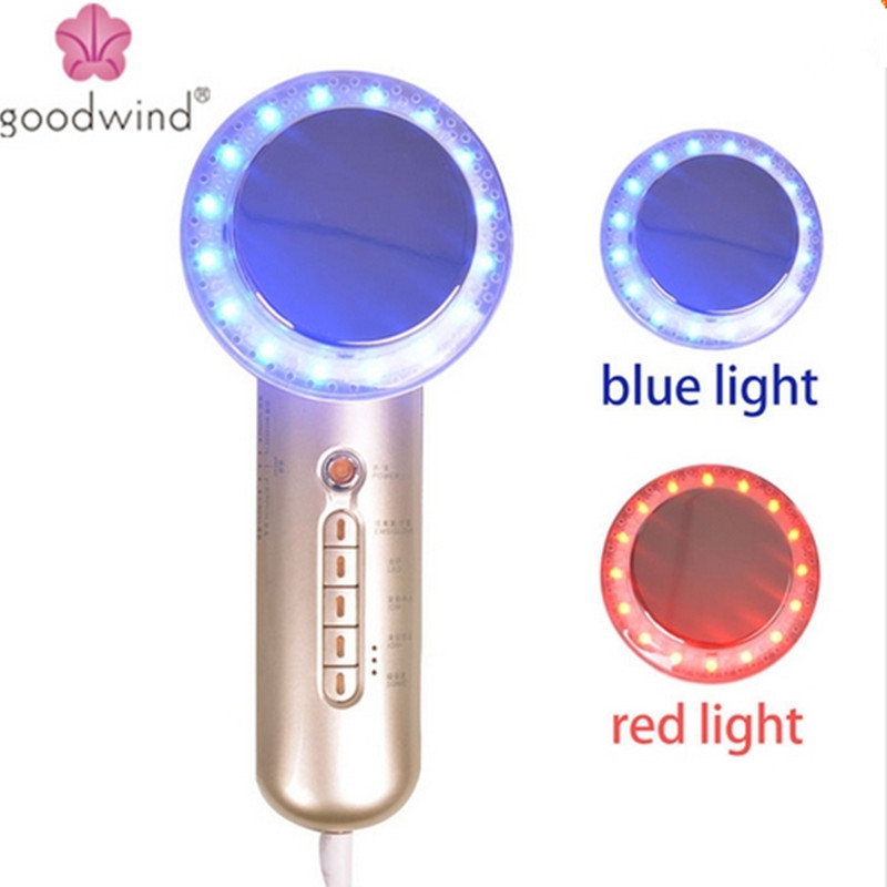 Body &Face Slimming Massager Sonic ion EMS LED Photon Facial Massager Firming Lifting Anti-cellulite Burn Fat Beauty Equipment