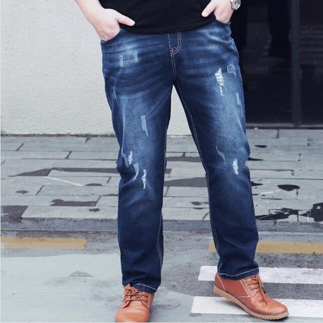 Mens Oversized Jeans 300 pounds -160kg 6XL  7XL 8XL