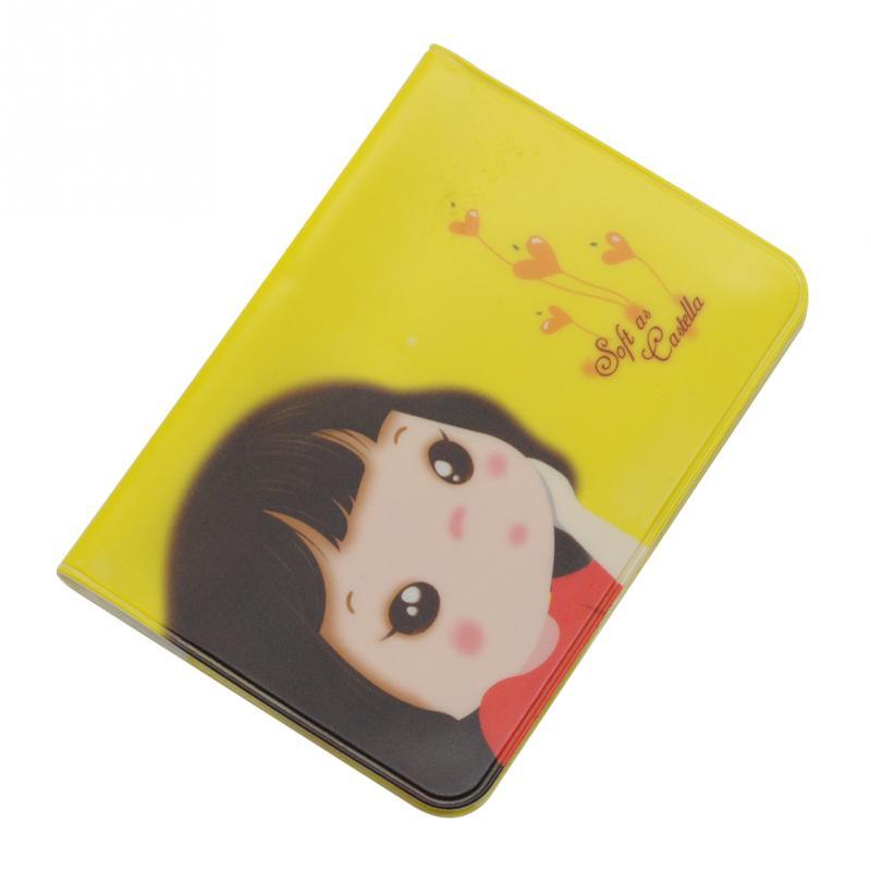 1 X Cute Kawaii Cartoon Girls Purse Credit ID Business Cards Holder ...