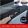 Interruptor de Tronco Para 2009-2014 Chevrolet Cruze de alta Calidad Con Cargador USB Socket LED Luces Refit Tronco Interruptor de Botón asamblea
