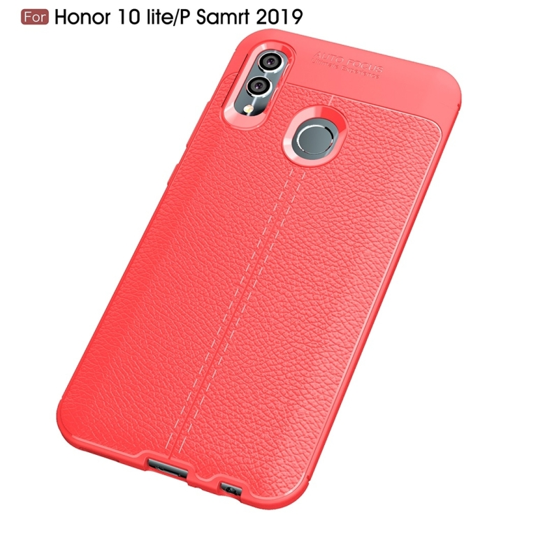 HAWEEL Phone Case for Huawei Honor 10 Lite P Smart 2019 Litchi Texture TPU Shockproof Case in Fitted Cases from Cellphones Telecommunications