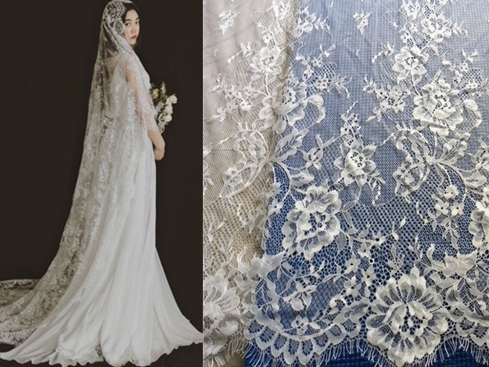 French Lace Wedding Gown: Wholesale Price Exquisite African Wedding Dress French