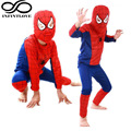 Cool kids niños super hero medias spider-man superman batman zorro de halloween fiesta de disfraces cosplay traje ropa