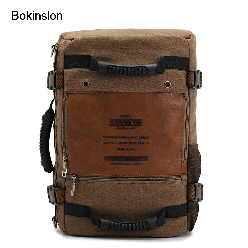 Bokinslon Crossbody Bags For Man Canvas Fashion Men Shoulder Bags Multifunctional Practical Man Travel Bags UnisexBokinslon Crossbody Bags For Man Canvas Fashion Men Shoulder Bags Multifunctional Practical Man Travel Bags Unisex