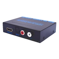 HDMI to HDMI Optical SPDIF+ RCA L/R 4K Audio Converter Splitter with DC 5V Power US/ EU adapter for teaching/conference