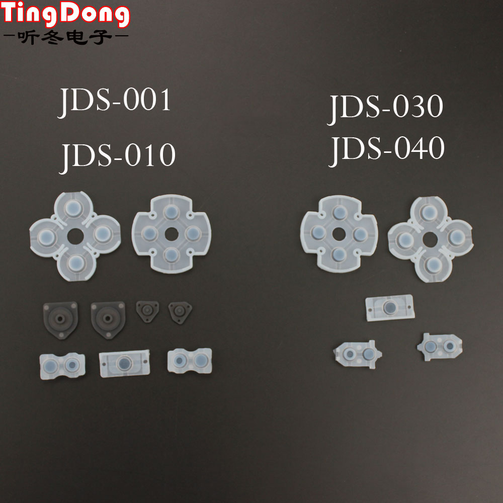 TingDong  For Playstation 4 Dualshock Silicon Rubber Conductive Pads - For PS4 Controller Repair Parts