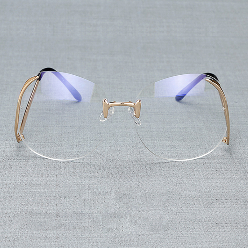 Fashion Eyeglasses Frame Women Computer Optical Brand Clear Eye - Apparel Accessories - Photo 3
