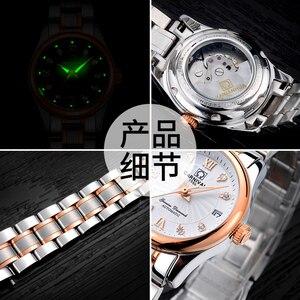 Image 4 - カーニバル女性の腕時計高級ブランド自動機械式時計サファイア防水レロジオ feminino C 8830 8