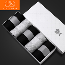 JOYOUS LUCKY 2017 New Men Socks 5 Pairs Black Grey Business Cotton Socks Wedding Socks Size 41-45 Fit to Foot 25.5-27.5 cm