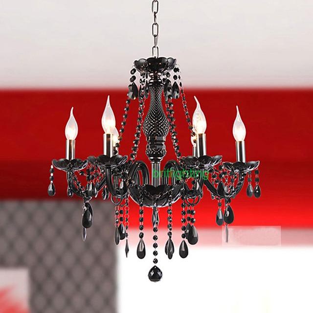 Schwarz Kristall Kronleuchter Moderne Innenbeleuchtung Traditionelle Kronleuchter  Küche FÜHRTE Luxus Kronleuchter Beleuchtung Innenbeleuchtung