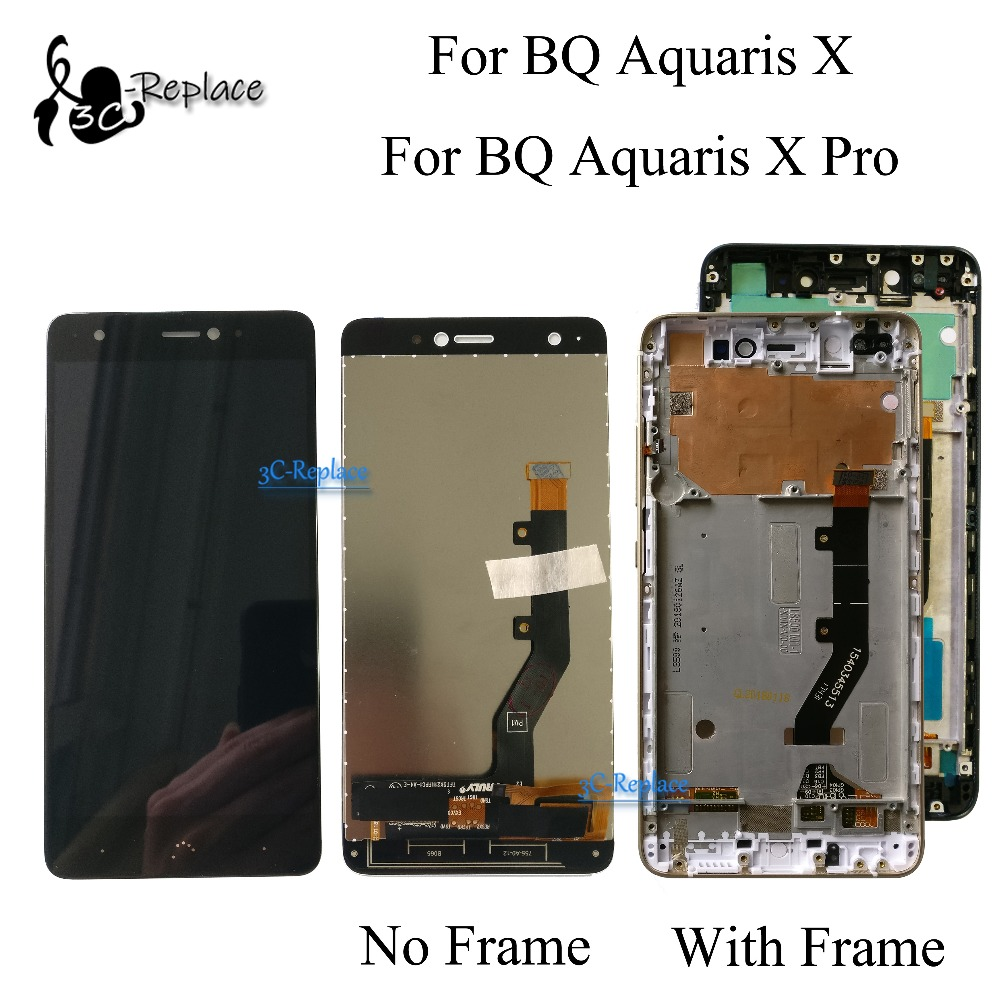 100 Tested Original 5 2 inch For BQ Aquaris X BQ Aquaris X Pro LCD Display