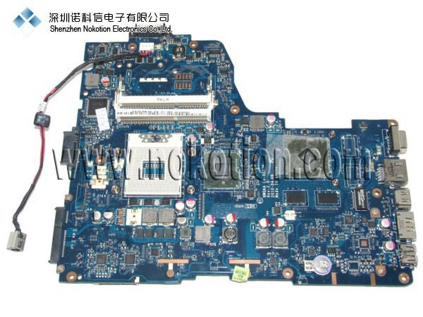 все цены на NOKOTION Original laptop Motherboard For TOSHIBA A665 A655D Series LA-6062P K000106370 FULL TEST Mainboard free shipping онлайн