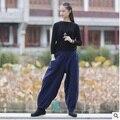 2016 lanzamientos de productos de invierno diseño original suelta yardas grandes ropa de algodón engrosamiento de las mujeres de los pantalones del haroun pantalones