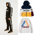 17 Styles Palace Skateboards Men Women High Quality 1:1 Hoodies Kanye West Hip Hop 3M Reflective Windbreaker DG Palace Hoodies
