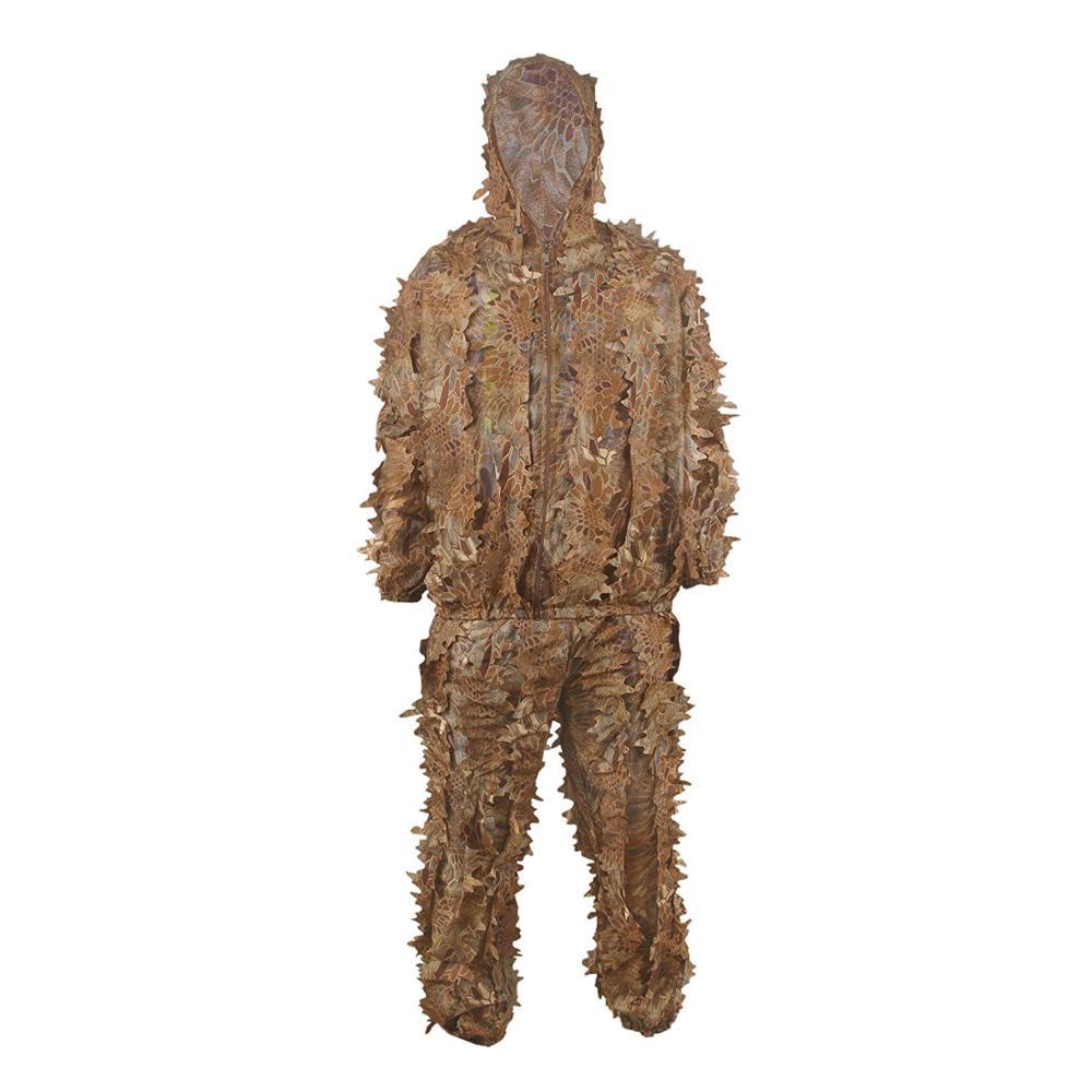 Camouflage extérieur Ghillie costume militaire feuille accessoires de tir équipement tactique vêtements pour Airsoft tactique vêtements de chasse