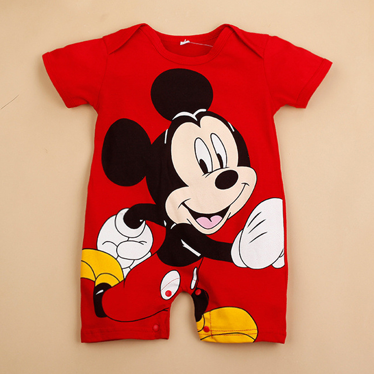 5style Baby   Rompers   Cotton Baby Girl Clothes Mickey Baby Boy Clothing Newborn Roupas Bebe Infant Jumpsuits Minnie KidsClothing