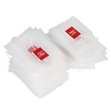 100 Unids/pack Nylon Bolsa de Vacío de Té, Además de Pirámide Tetera Filtro de Bolsa de Té Nuevo