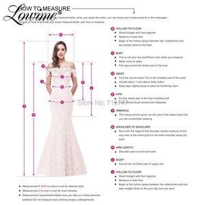 Image 5 - Increíble vestido de fiesta de princesa de verano 2019 de alta costura de tul Multicolor vestidos de graduación con cuentas Abendkleider vestidos de noche árabes