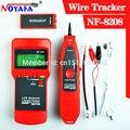 Envío Libre NoyafaNF8208 Multipurpose Display LCD Cable de Red Cable Tester Perseguidor Del Alambre Del probador Probador de Continuidad de inspección