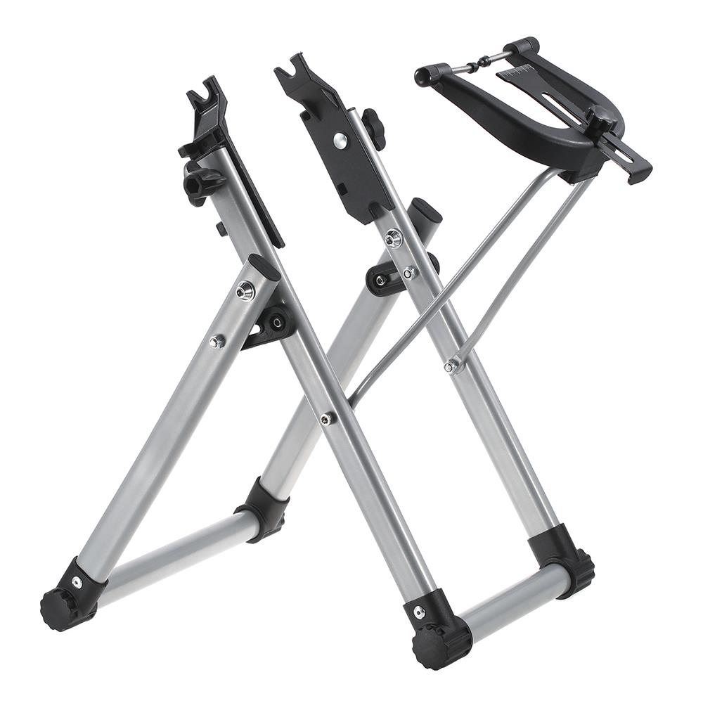 Home Mechanic Bicycle Wheel Truing Stand Wheel Maintenance Home Truing Stand Holder Support Bike Repair Tool agekusl bicycle wheel truing stand bicycle wheel maintenance mtb road bike wheel repair tools store home mechanic truing stand