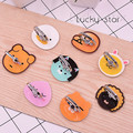 New Cartoon Theme Phone Ring Holder Ryan Puppets Lovely Design Anti-fall Ring Holder Stand Finger Grip Charmander Ring
