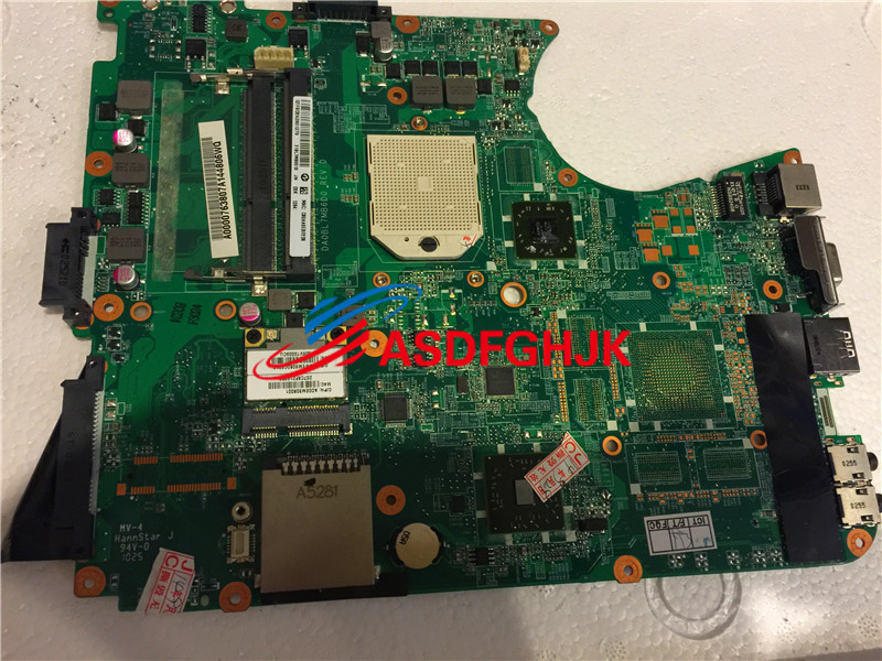 Original FOR Toshiba Satellite L655D Motherboard A000076380 DA0BL7MB6D0 100% Work Perfect