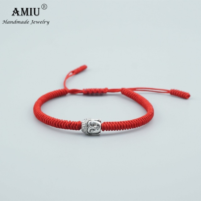 32c07523ff38b AMIU 3 Colors Tibetan Buddhist Prayer Bead Lucky Charm Tibetan Bracelets    Bangles For Women Men