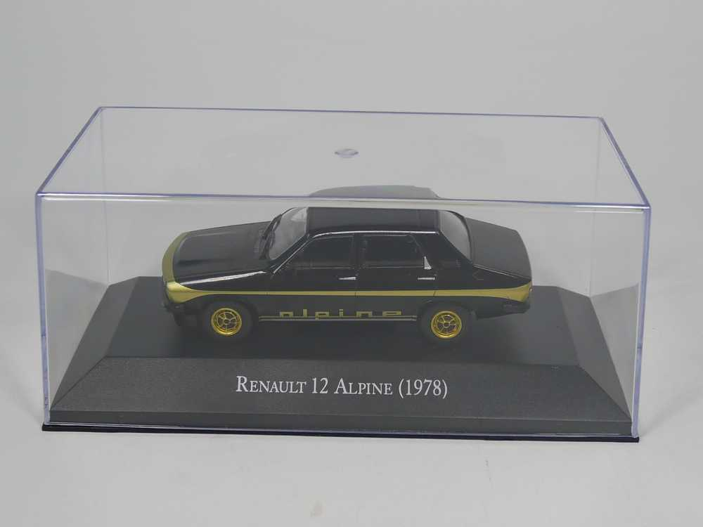 Renault 12 Alpine 1978 Blister 1:43 Salvat Ixo Modellauto