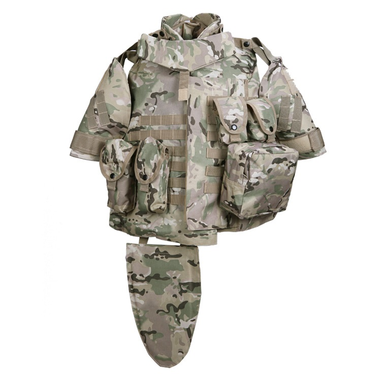 ACU Khaki IOTV Camouflage interceptor Tactical vest for airsoft survival painball games Military combat Body armor