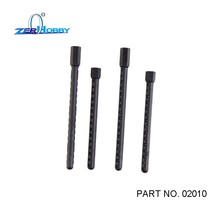 4 Pcs 02010 Body Post HSP Spare Parts for 1/10 RC 4WD Model Car Black New цены