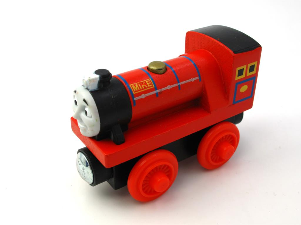 Wooden Thomas Train T091W MIKE Thomas And Friends Trackmaster Magnetic Tomas Truck Car Locomotive Engine Railway Toys for Boys